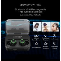 Наушники беспроводные Blitzwolf BW-FYE3 True Wireless Bluetooth 5.0 Headphone Hi-Fi Stereo